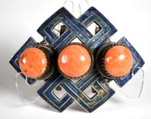Chinese/Tibet Silver & Coral