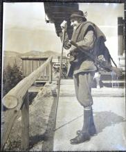 1930's G S P; Large Photo; Alpine Hunter or Guide