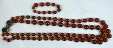 Amber Beads Wired Together Weighing 162.5G