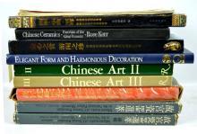 10 Books Chines Ceramics & Works of Art