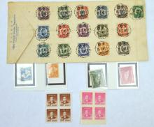 28 Chinese Postage Stamps; 16 Flying Tigers