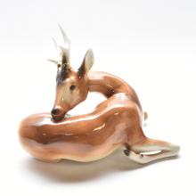 PORCELAIN DEER, ROYAL DEUX