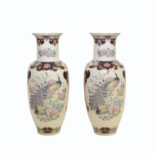 PAIR OF JAPANESE PORCELAIN VASE