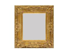 GILT WOODEN FRAME MIRROR