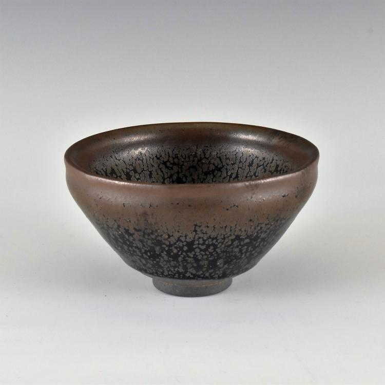 A CHINESE 'JIAN' 'HARE'S FUR' TEA BOWL