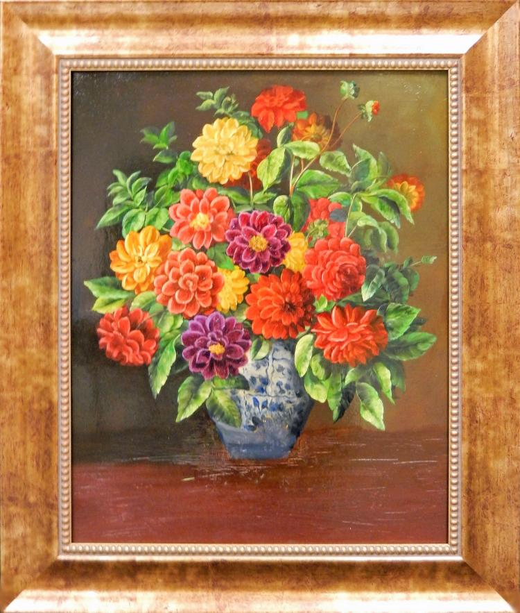 BARA, VASE OF FLOWERS