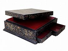 18th c. Qing Dynasty Antique Chinese double drawers