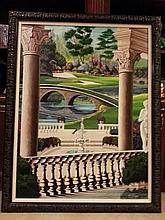 Golf Painting 4ft x 2 « ft by Bill Pearson
