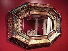 Red frame Mirrors