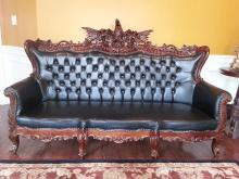 Mahogany Eagle Living room Set