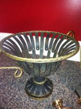 Bronze/Copper Basket/Planter Holder