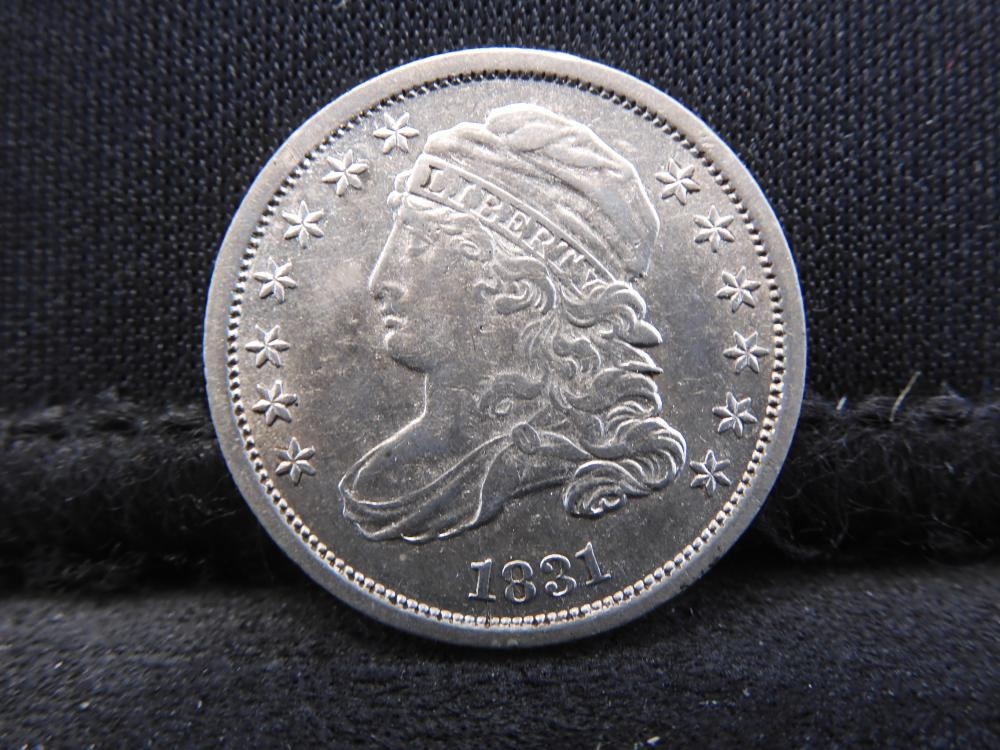 1831 Capped Bust Dime High Grade Brilliant Luster!