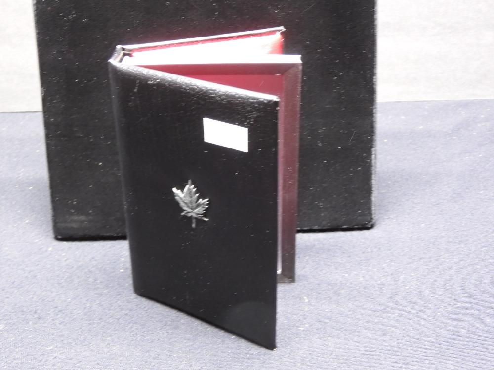 1987 Canadian Double Dollar Proof 7 Coin Set in Nice Case