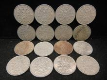 (16) Great Britain 2 Shillings 1960's Mixed Dates