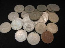 (24) Great Britain 1 Shilling 1950's Mixed Dates