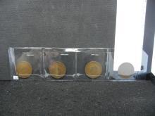 1940, 1945, 1947, & 1948 British One Pennies
