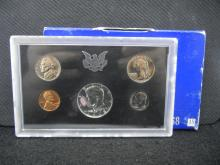 1968-S U.S. Mint Proof Coin Set - Includes 40% Silver Kennedy Half Dollar