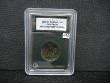 2005-D Kansas Quarter INB Full Strike MS 70