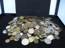 Approx. 3.5lbs of Foreign Coins