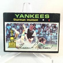 1971 Topps Thurman Munson #5 - 2nd Year - Books Higher than Rookie Card