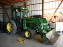 1998 John Deere 5410 Diesel Tractor W/Cab  & 540 Loader