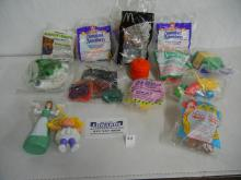 Lot of McDonalds Kids Meal Toys-Disneyland Adventures-King Louie, Big Thunder Mountain, Shan Yu, Holiday Coca Cola Bear, Baby Kermit, Cabbage Patch Kids,
