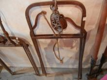 Vintage Iron Hay Forks with Pulley   NO SHIPPING!!!