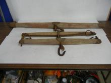 Horse Double Tree Hitch   NO SHIPPING!!!