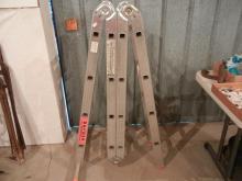 Kraus Stabilo Folding Aluminum Ladder   NO SHIPPING!!!