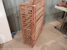 Wooden Chicken Cage 3' x 2' x 1' and 2 Chicken Catchers   NO SHIPPING!!!