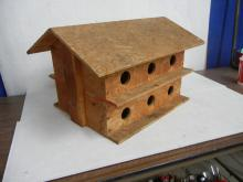 Large Hand Crafted Martin Birdhouse   NO SHIPPING!!!