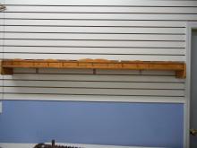 6' Long Oak Shelf   NO SHIPPING!!!