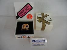 1995  Barbie Limited Edition Mattel 35th Anniversary Festival Pin W/ Box