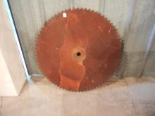 Large Buzz Saw Blade Approx. 3' Diameter   NO SHIPPING!!!
