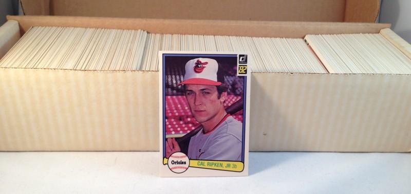 1982 Donruss Baseball Complete Set