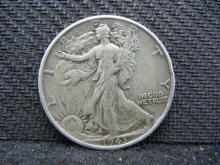 1943 Walking Liberty Half Dollar - 90% Silver