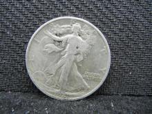 1942-S Walking Liberty Half Dollar