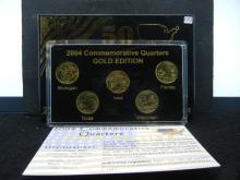 2004-D Gold Enhanced State Quarters