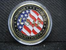 United States Air Force f-35 Lightning II Token