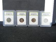 1971 BU, 1987-S DCAM & 2009-P & D BU Quarters