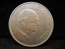 1965 Great Britain Crown Winston Churchill Coin