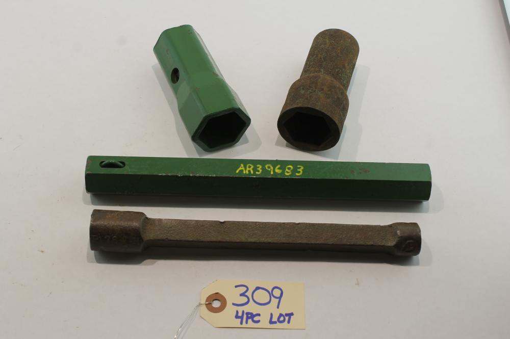 4 pc Lot Deere Socket Wrench