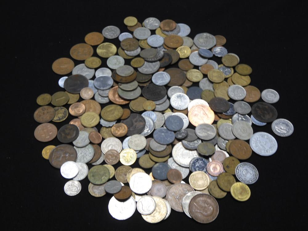 2.27 Lbs. World Coins - Various Countries