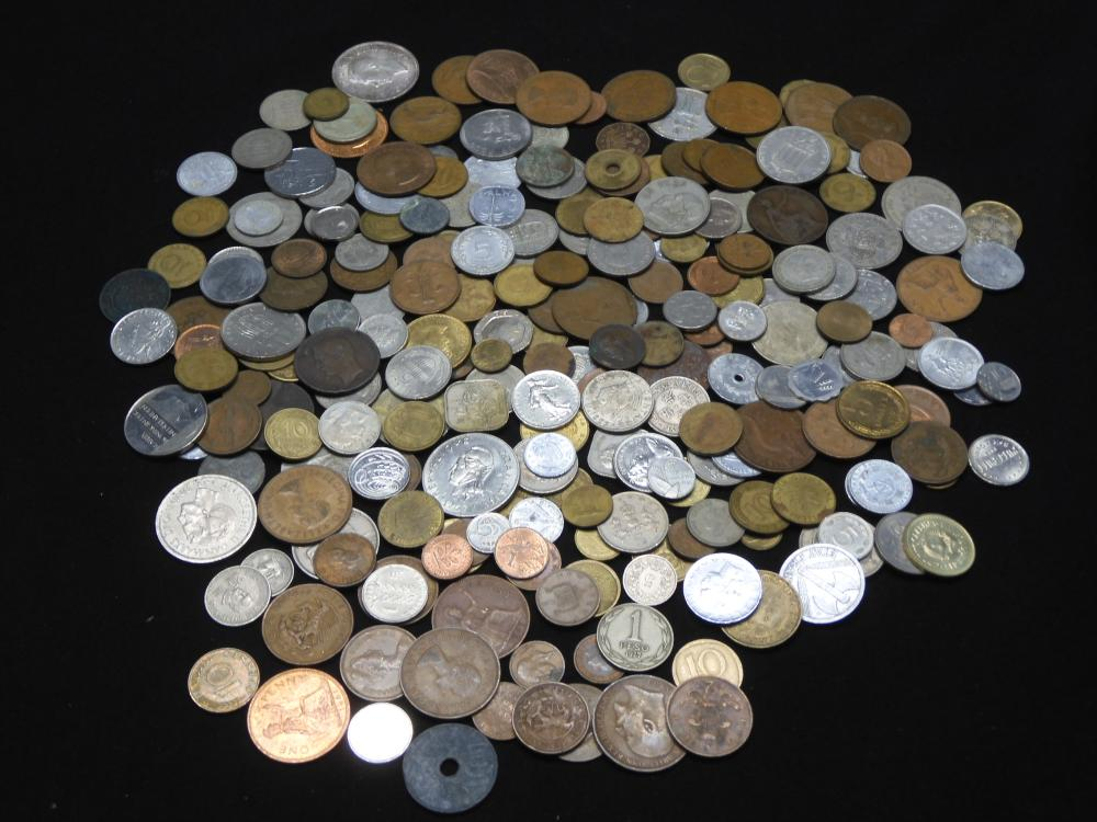 2.65 Lbs. World Coins - Various Counties