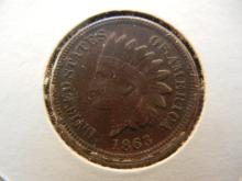 1863 Indian Head Cent.  Full Liberty.