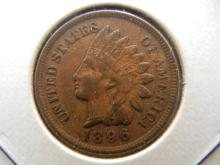 1896 Indian Head Cent.  Extremely Fine 40.