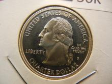 2000 S Virginia State Quarter 90% Silver Proof