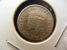 1941 Newfoundland Nickel.  Luster.