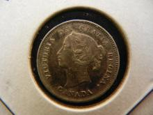 1896 Canada Nickel.  Extremely Fine.
