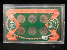 Buffalo Nickel Set.  Six Nickels.